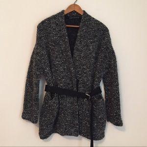 Zara NWOT sweater jacket